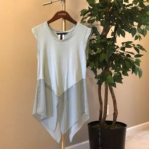 BCBG Blue Top